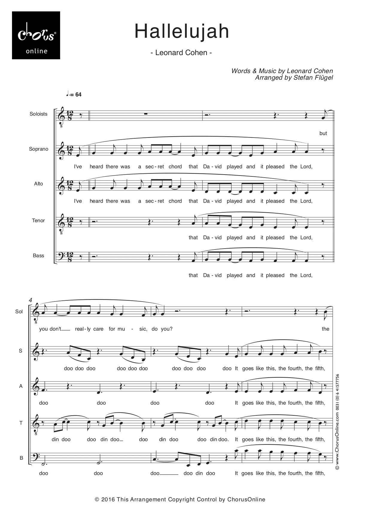 Leonhard Cohen - Hallelujah