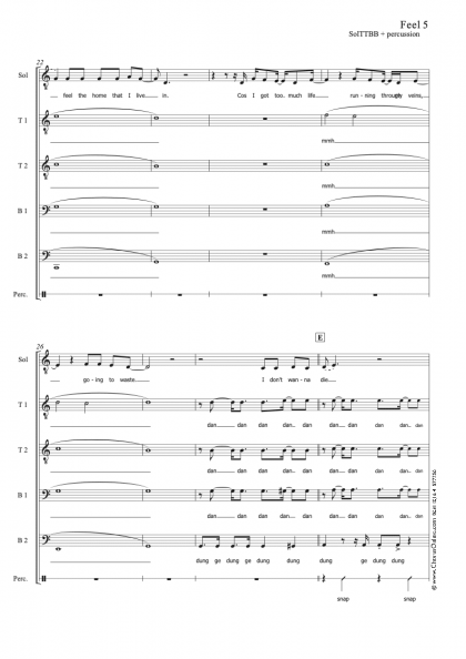 Feel SolTTBB 5 part + percussion Draft.musx 3